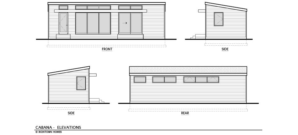 The Cabana Irontown Homes