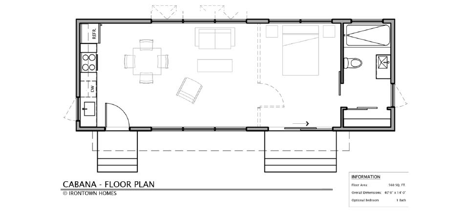The cabana irontown homes for Cabana design plans