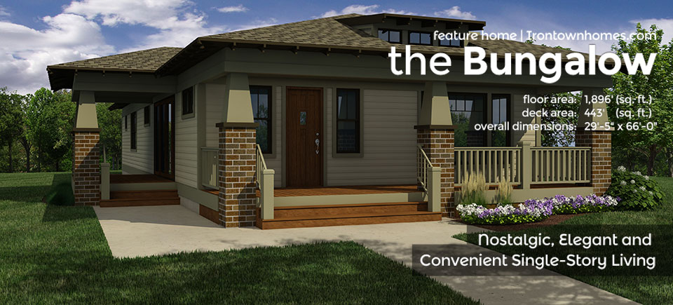 The Bungalow Irontown Homes
