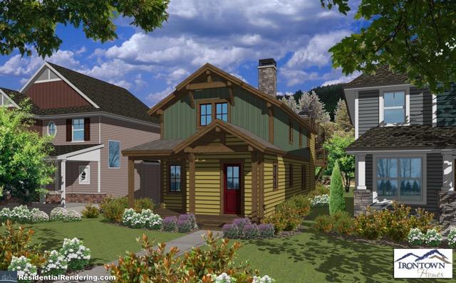 Building custom modular home for historic old town park for Modular shotgun house