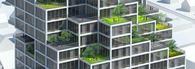 world's tallest modular building