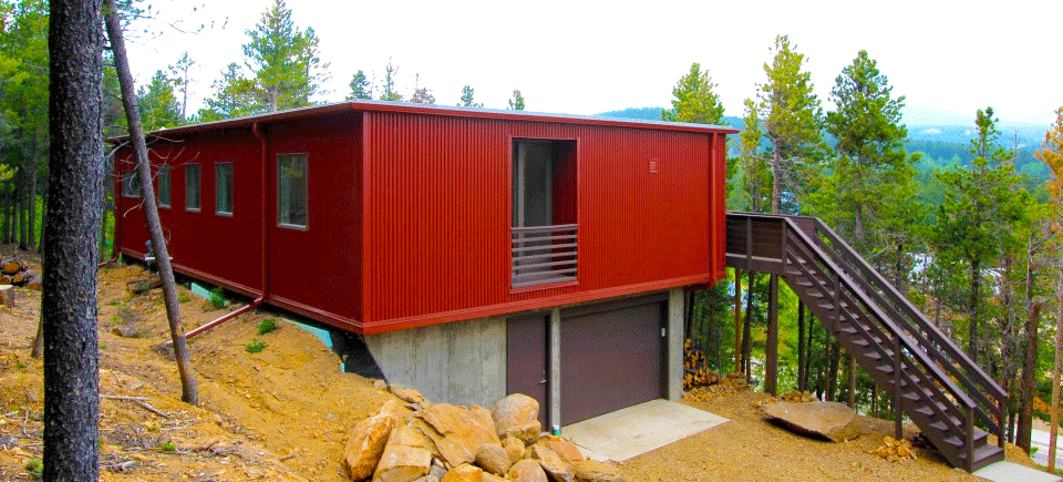 Where can you build modular homes irontown homes for Modern homes colorado springs